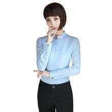 Elegant White Chiffon Shirt Breathable Soft Blouse Women Female Wear Casual Style Long Sleeve Lady Tops Plus Size shirt women