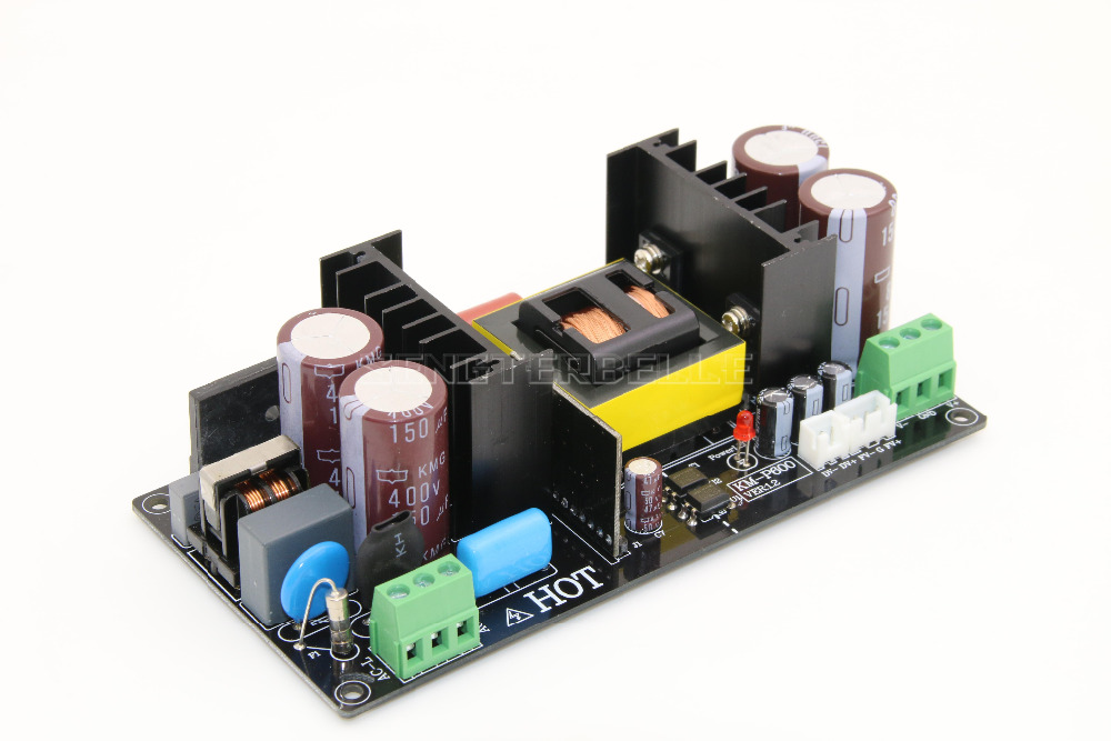600W 55VDC LLC Resonant Soft Switching Power Supply HIFI Audio Amplifier PSU New
