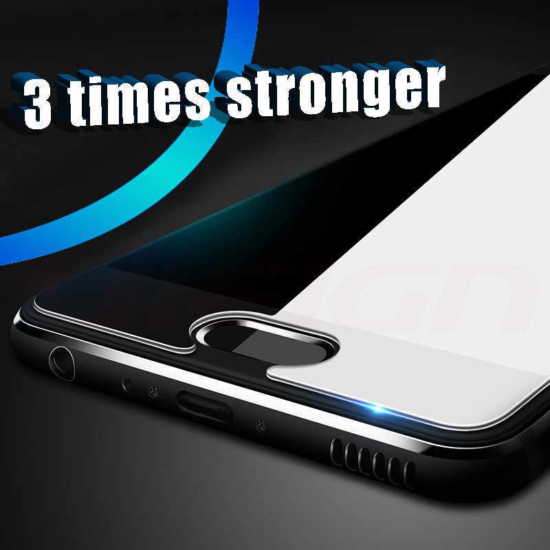 3-4 ピース/ロット 2.5D 強化ガラススクリーンプロテクター Huawei 社アセンド名誉 3 10 9 8 Lite 7 7X 7A 8A 6X 8X 7C 保護フィルム
