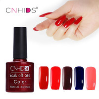 Hot Products CNHIDS 10PC Nail Gel Polish UV LED Shining Colorful 132 Colors10ML Long Lasting Soak