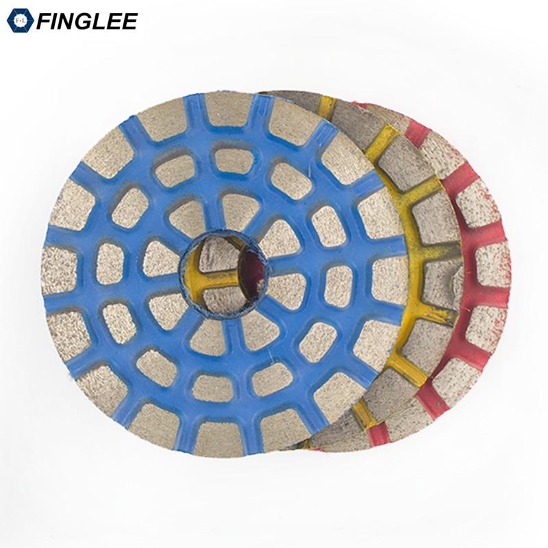 FINGLEE 3 colių / 4 colių metalinių obligacijų granito poliravimo - Elektriniai įrankiai - Nuotrauka 3
