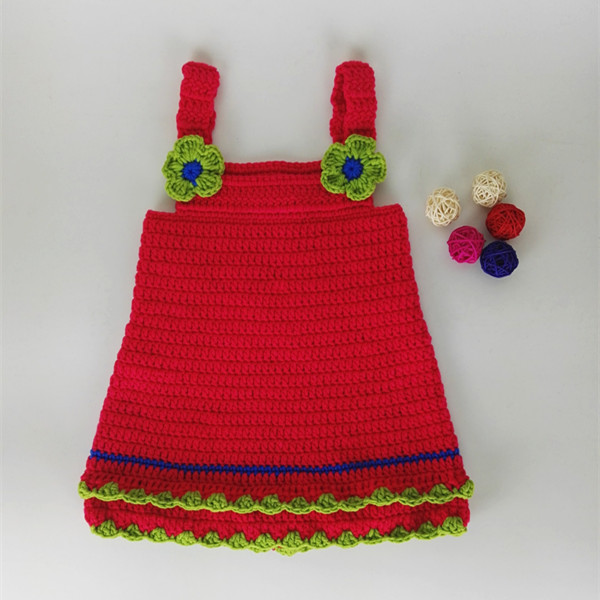 Baby Girl Dress Crochet Newborn Baby Dress For Photo Prop Girls