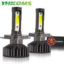 YHKOMS H4 LED H7 LED Canbus H8 H9 H11 9005 9006 880 881 H27 H1 H3 3000 k 4300 k 6500 k 8000 k Auto Faro Lampada Auto Della Nebbia 12 v 24 v