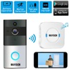 DAYTECH Wireless WIfi Video Doorbell 720P HD Camera Two Way Audio Motion Detection Night Vision Battery