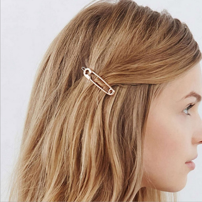 Sale 1pc Alloy Bridesmaid Paperclip Wedding Charming   Headwear   Chic Hair Clip Hairpin Hair Accessories