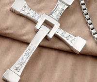 Biggest Size FAST and FURIOUS Dominic Toretto's Cross S925 Sterling Sliver Pendant Necklace 70x50mm 25g Grams Pendant
