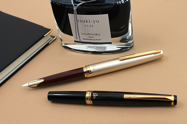 Pilot Elite 95s 14k Gold Pen EF/F/M nib Limited Version Pocket Fountain Pen Champagne Gold/Black Perfect Gift 2018 montegrappa chaos limited edition 18k gold fountain pen fine point