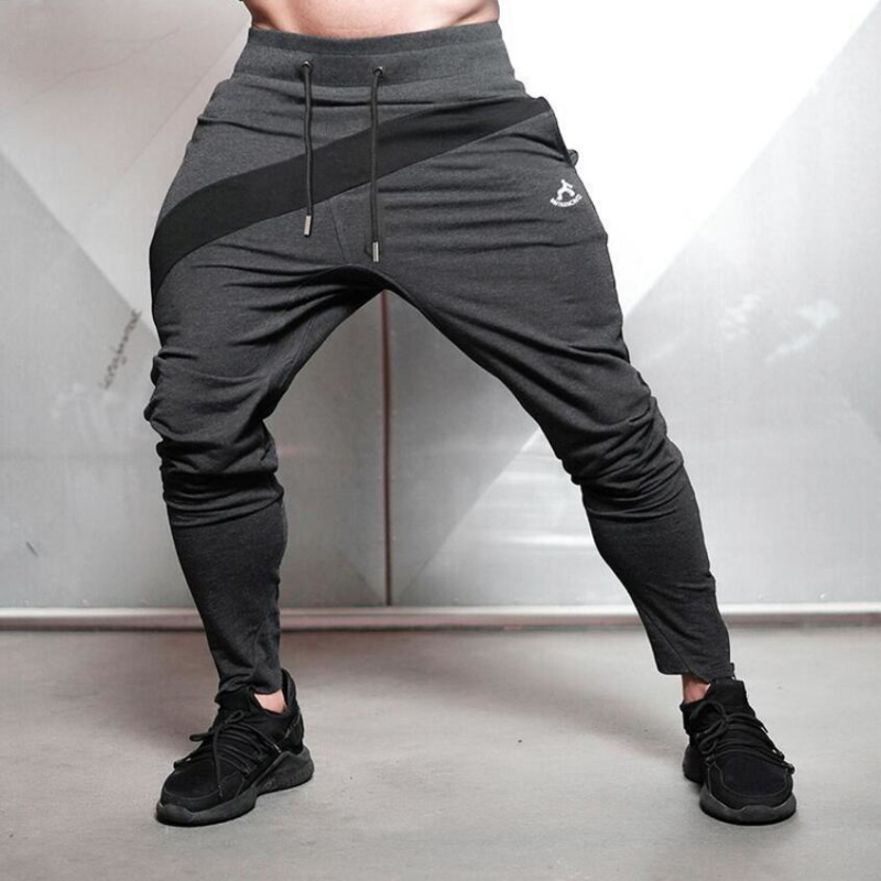 Training Running Pants Sport Gym Leggings Men (4)