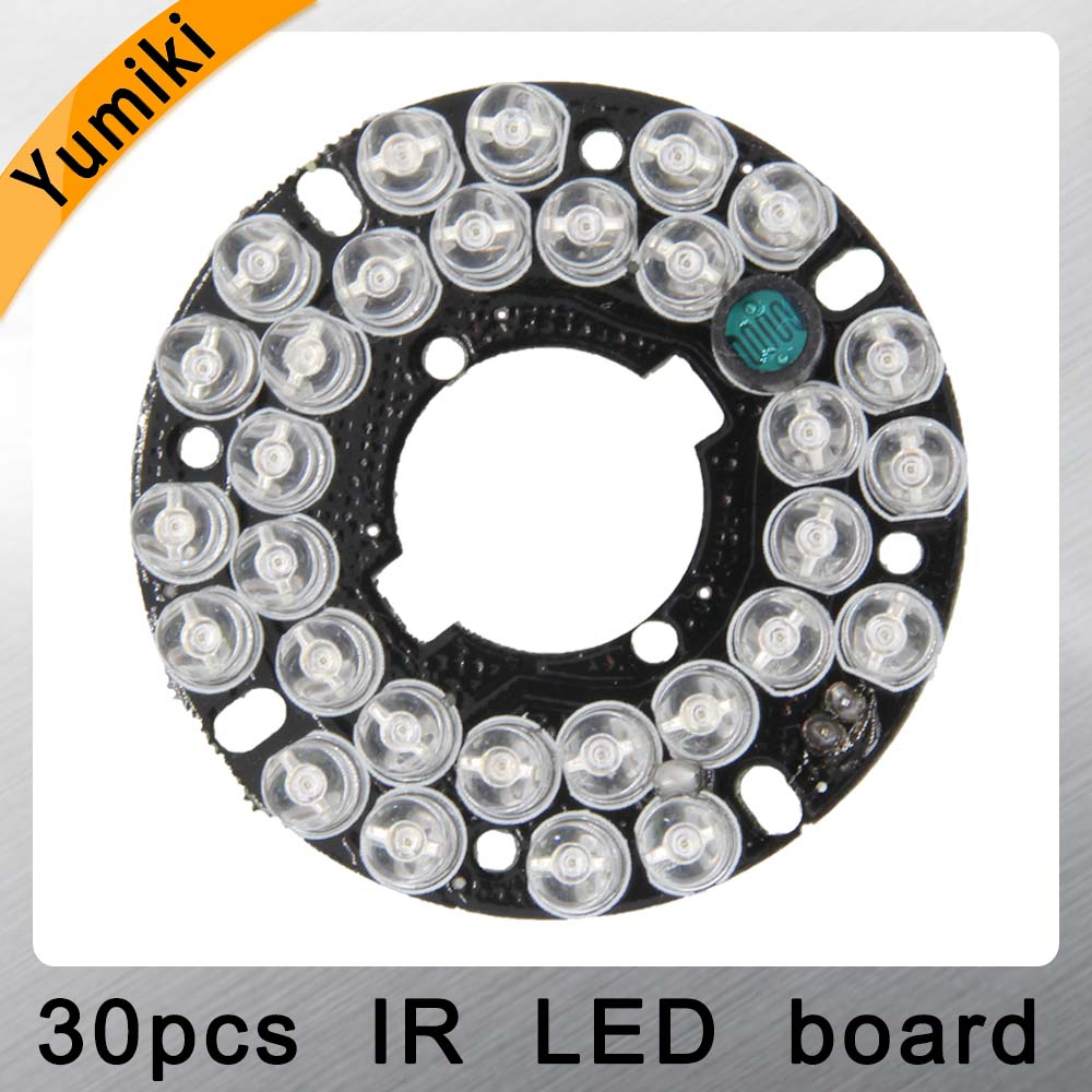 Yumiki Infrared 30 X 5 IR LED Board For CCTV Cameras Night Vision (diameter 48mm)