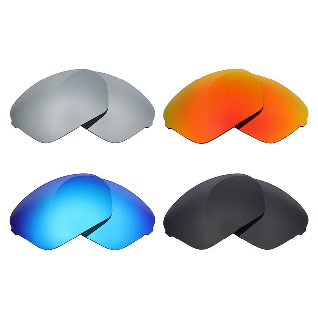 c5fe2b5809a63 Mryok Anti-Scratch Lente POLARIZADA Lentes de Reposição para óculos Oakley  Meia X Óculos De