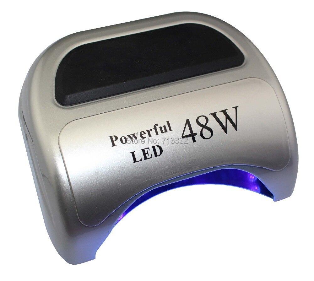6 Color Professional nail Tools new Fast dry 18g <font><b>48W</b></font> <font><b>LED</b></font> nail <font><b>lamp</b></font> for <font><b>uv</b></font> <font><b>led</b></font> gel polish 110V-240 V Euro or US plug