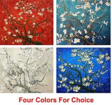 Здесь можно купить   Framed Canvas Hand painted Flower paintings Vincent Van Gogh oil painting reproduction Almond Tree in Bloom modern art wall deco Home Decor