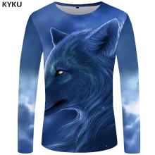 Men Long Sleeve 3D T-Shirts Multi Patterns