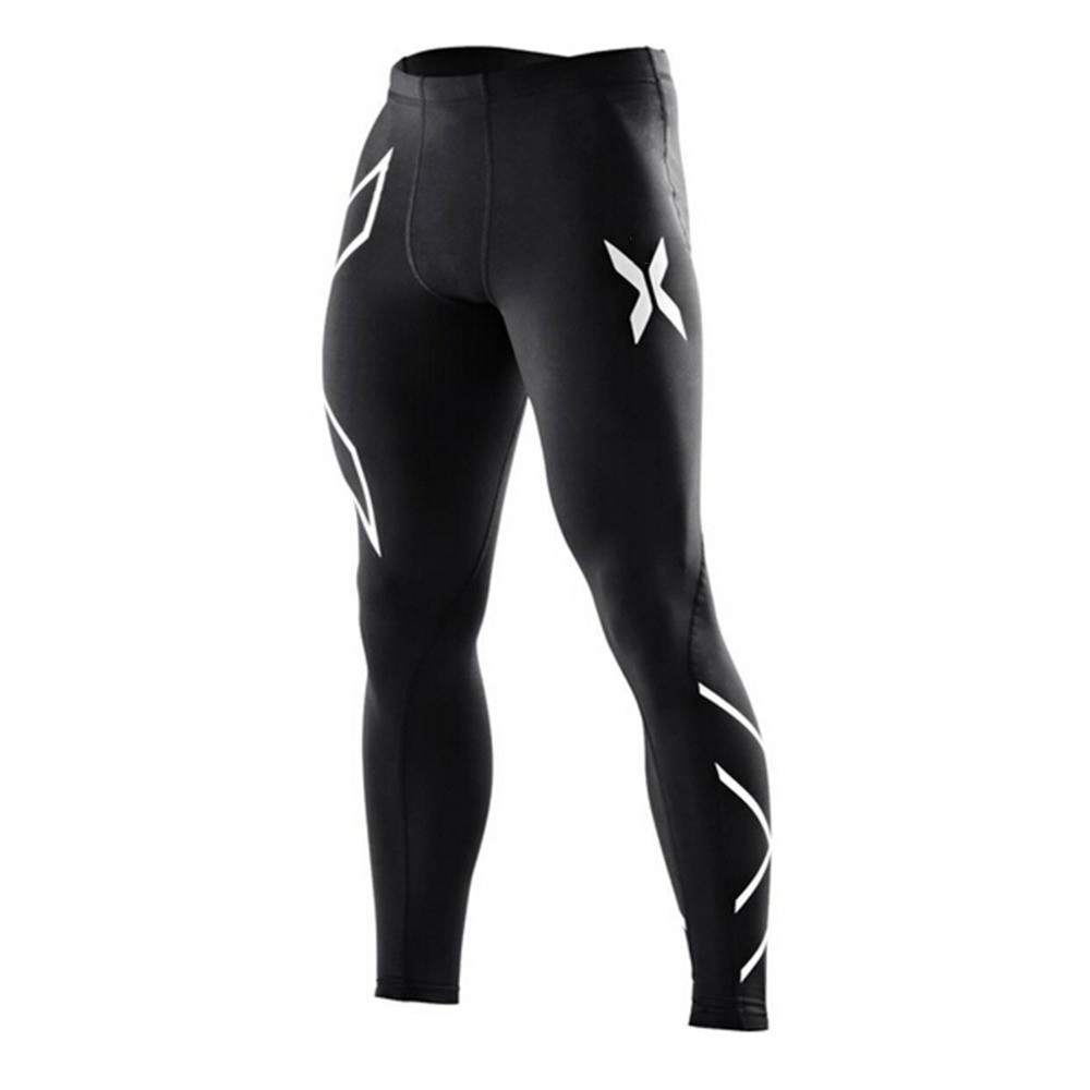 2017 New Brand Clothing Mens Compression Tights Pants Male
