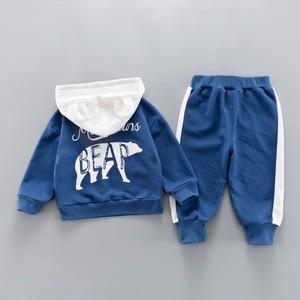 Image 4 - เสื้อผ้าเด็กฤดูใบไม้ผลิฤดูใบไม้ร่วง Boys เด็กวัยหัดเดินเสื้อผ้าชุดชุดเด็กเสื้อผ้าชุดสำหรับสาวเสื้อผ้าชุด