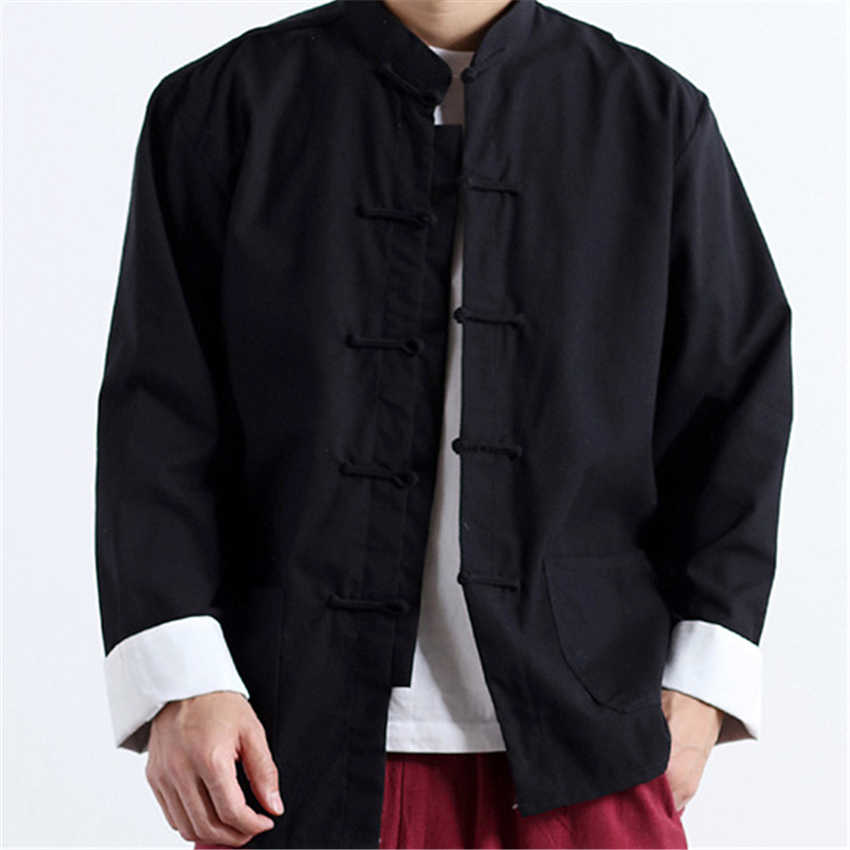 中国シャツ 2019 メンズジャケット Tangs スーツ武術フェスティバルスタイル中国アジア服ティーパーティー伝統的な中国