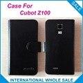 Caliente! 2016 Z100 caja Cubot teléfono, 6 colores de la alta calidad cuero Exclusive cubre para Cubot Z100 número de seguimiento