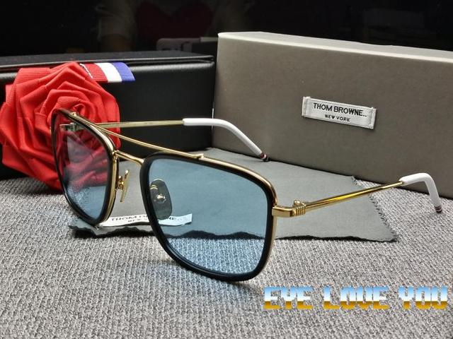 a88f1e217a2 thom browne AW14 Free Shipping sunglasses men brand retro vintage round  sunglasses women Thom Browne sunglasses Hipster vintage
