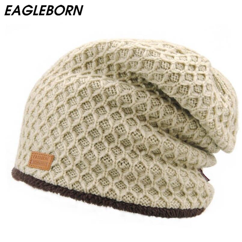 Simple style winter men's hat snapback f