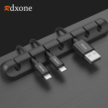 Rdxone 5 피스 usb 케이블 와인 더 데스크탑 깔끔한 케이블 주최자 관리 클립 마우스 헤드폰 이어폰 용 케이블 홀더
