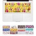 Цветок Цветочный Природа Дизайн клавиатуры Обложка наклейки для Macbook Air 13 Pro 13 15 17 дюймов ноутбук iMac Магия Клавиатура Кожного Покрова