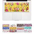 Flower Floral Nature Design keyboard Cover stickers for Macbook Air 13 Pro 13 15 17 inch laptop iMac Magic Keyboard Skin Cover