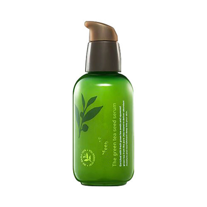 Original Korea The Green Tea Seed Serum  80ml Skin Care Whitening Nourish Treatment Anti Wrinkle Anti Aging For Face free shipping rechargeable li ion battery pack 36v 13ah lithium ion bottle dolphin ebike battery 18650 battery pack