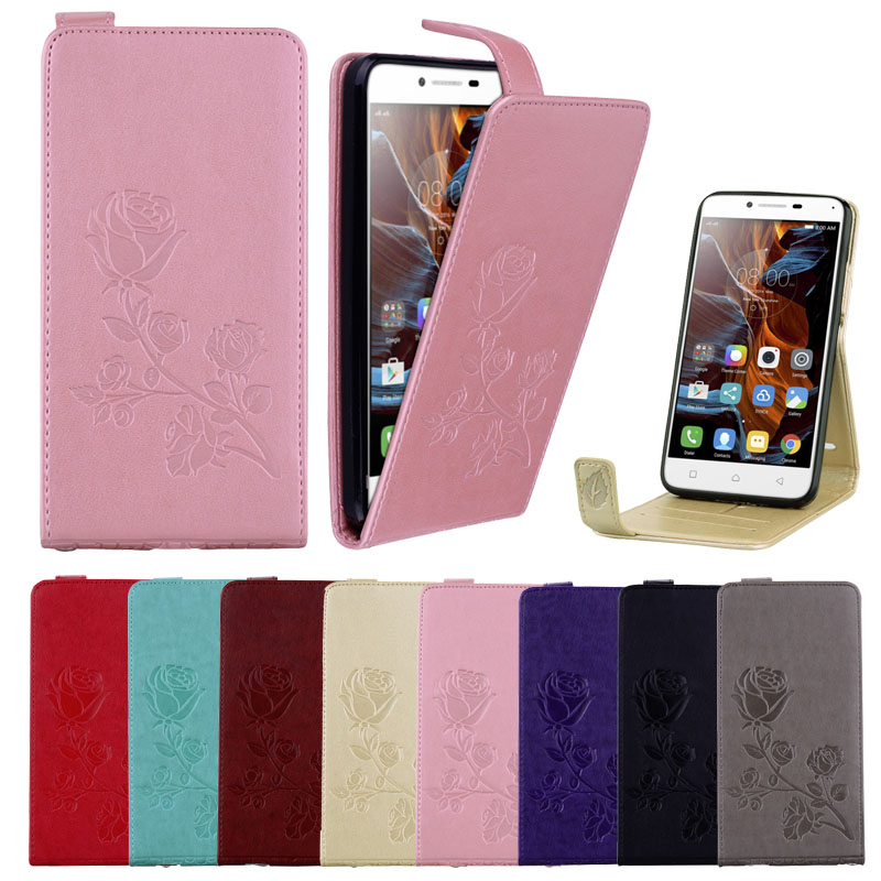 Butterfly Flower Leather Case For Lenovo K5 Dual Plus A6020
