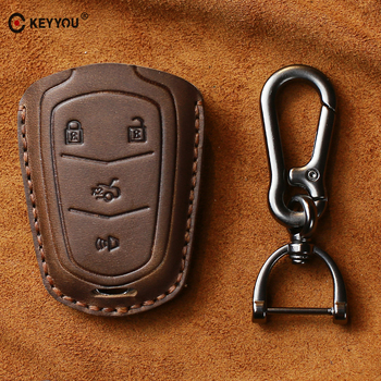 cover Cadillac Escalade ATS CTS XTS SRX XT5 BLS Remote Smart Key Bag Holder Shell