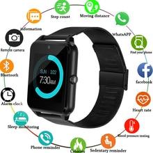 цена на Smart Watch Z60 GT09 Men Women Bluetooth Wrist Smartwatch Support SIM/TF Card Wristwatch For Apple Android Phone PK GT08