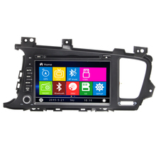 2Din Wince6.0 Car DVD Radio Player Control RDS For Kla K5 GPS Navigation RDS FM AM Bluetooth Steereo Video Free Map Touch Screen