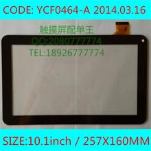"A estrenar 10.1 "" capacitiva YCF0464-A para TURBOPAD 1014 Digma ids10 Panel de pantalla táctil digitalizador pantalla táctil"