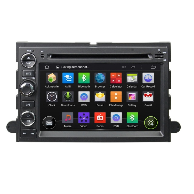 """SAMSUNG 1GB DDR3 RAM Quad Core Android 5.1 HD 7"""" car dvd gps for Ford Fusion Explorer F150 Edge Expedition With mirror link,USB"""