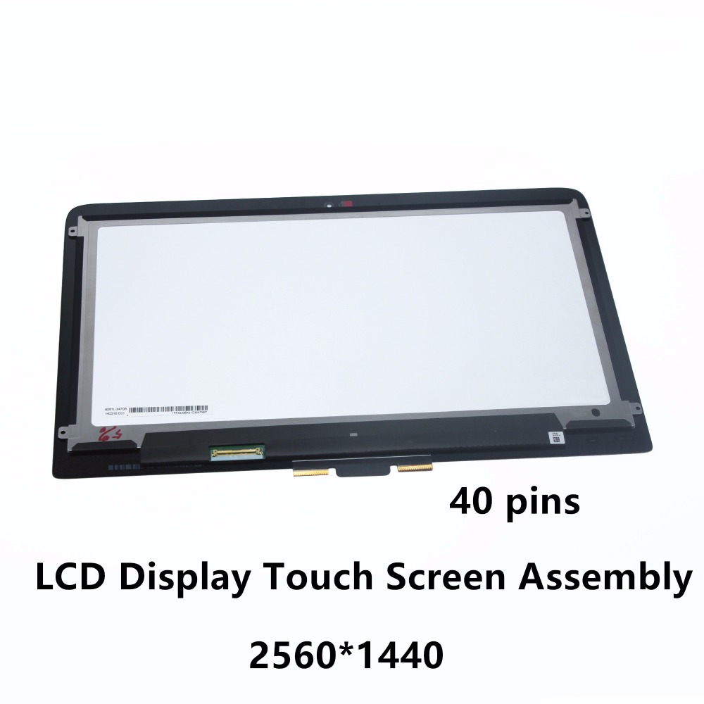 13.3 QHD LCD Screen Touch Digitizer Assembly for HP Spectre x360 13-4101UR 13-4109NA 13-4116TU 13-4116DX 13-4105DX 13-4001NX