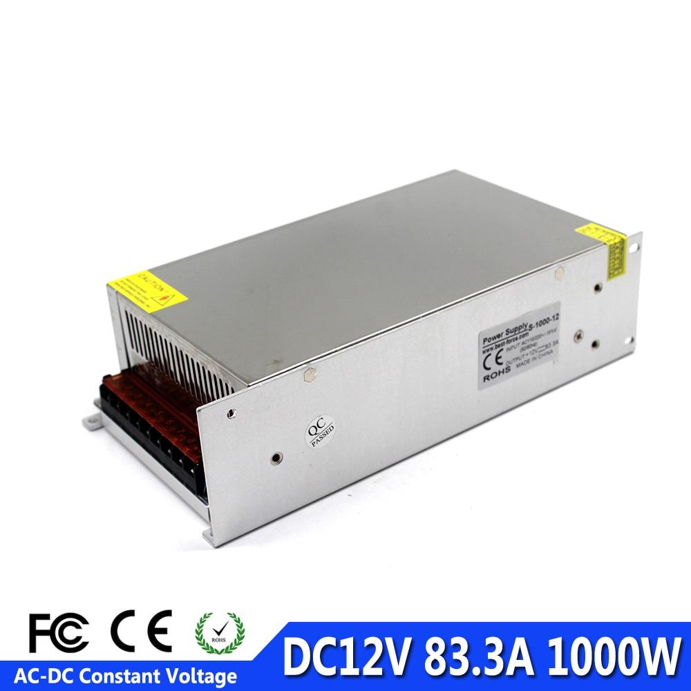 DC 12V 24V Universal Regulated Switching Power Supply LED 3D Printer CCTV New