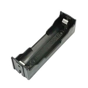 Image 3 - 50 adet/grup 18650 Pil Tutucu Kutusu Plastik 3.7 V Piller saklama kutusu Pin pcb dayanağı Lehim Montaj Kurşun Toptan
