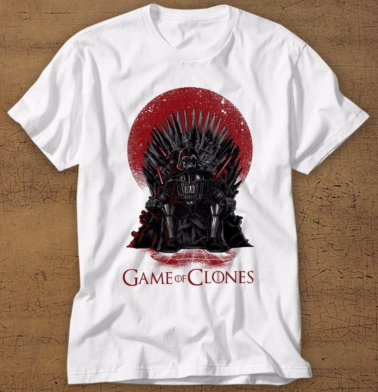 T shirt Short Sleeve Tops Darth Vader T-Shirt, Star Wars, Game Of Thrones, Funny Shirt,