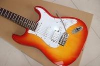 HOT Factory Custom Shop orange ST Electric Guitar High sound quality,