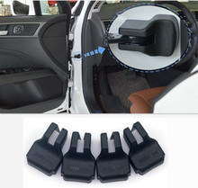 4pcs car styling Car door limiting stopper covers case for Toyota Corolla Camry RAV4 Yaris Prius car styling