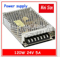 MS 120 24 120W Mean well LED Transformer 24V Power Supply 5A from 110V 220V AC to DC Output
