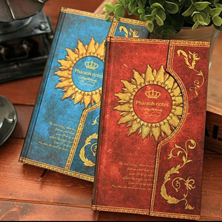 NEW Vintage Retro Paper Notebook Journal Old Ancient Magic Book Diary Notepad for Gift Korean Stationery office school supplies 1 pcs wedding straps the retro notepad current notebook replaceable page school office family diary gift book this book 5 color