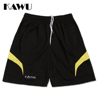 Men S Running Shorts Comfort 100 Polyester Regular Fit Quick Dry Run Sports Shorts Green Orange