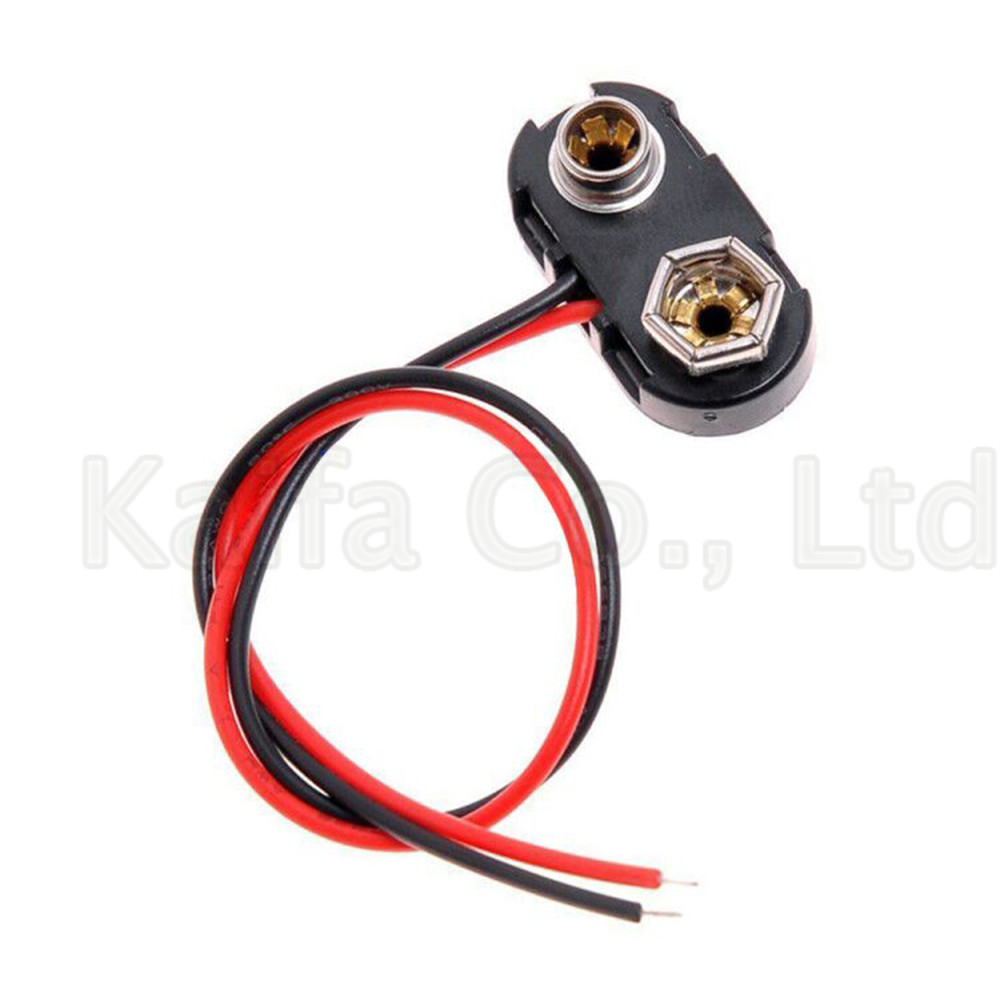 5-10pcs-lots-t-type-9v-battery-snap-connector-clip-lead-wires-holder-line-length-15cm