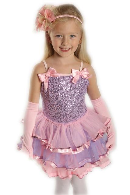 fe8921dbc Girls Dance Dresses Child Leotard Clothes Latin Costumes for Kids ...