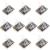 20 pcs Mini Dedos Medição Detectar Módulo Sensor De Batimentos Cardíacos KY-039