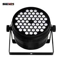 10 sztuk ze stopu aluminium LED Par 54x4W zimne i ciepłe DMX512 oświetlenie sceniczne efekt dla DJ Disco party i klub nocny szybka wysyłka w Oświetlenie sceniczne od Lampy i oświetlenie na