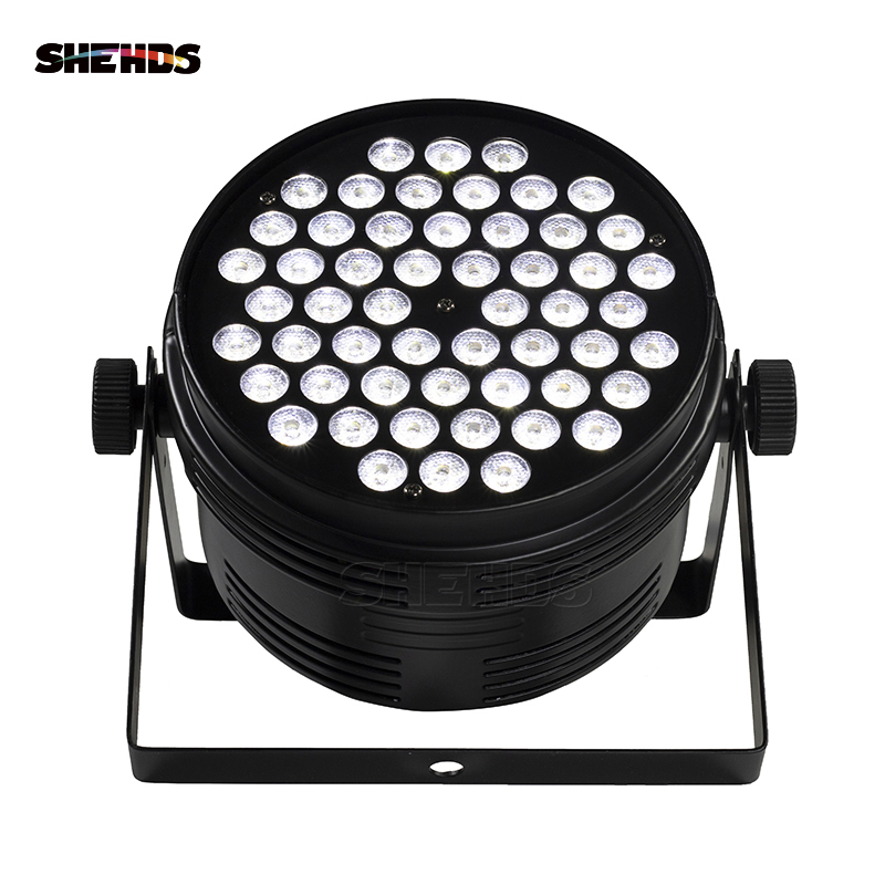 10PCS Aluminum Alloy LED Par 54x4W Cool And Warm DMX512 Stage Effect Lighting For DJ Disco Party And Nightclub Fast Shipping