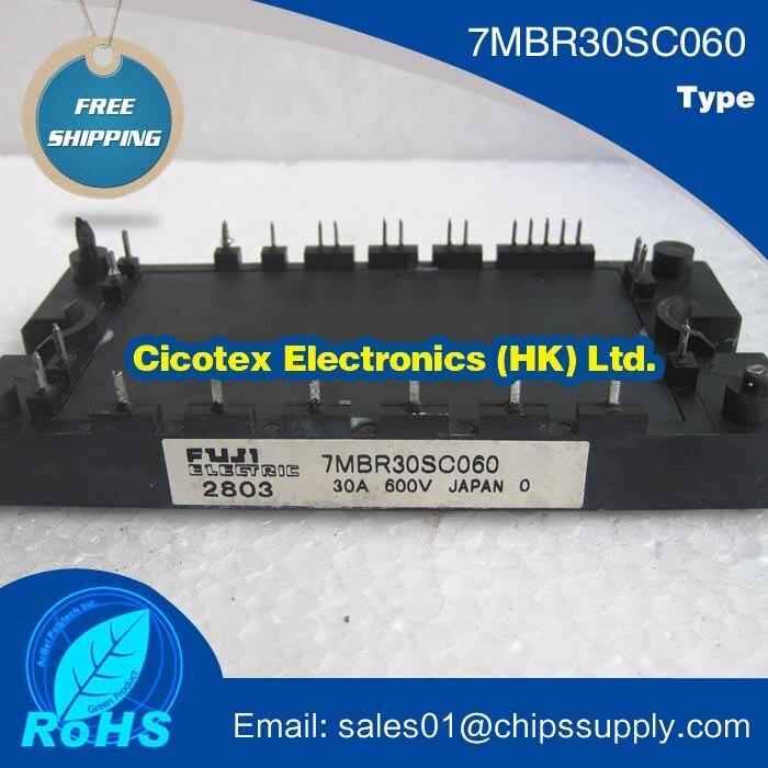 7MBR30SC060 MODULE IGBT PIM/Built-In convertisseur à thyristor et de frein (S série) 600 V 30A PIM