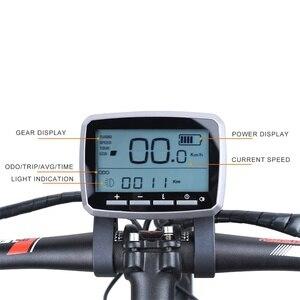 Image 5 - TOSHENG Bicicletta Elettrica FAI DA TE Kit Motore Metà Auto Kit Motore Brushless 48V 500W 36V 350W 250W E Bike Metà Motore Parti Di Conversione