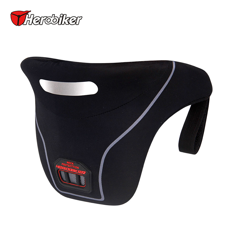 Herobiker Motorcycle Neck Protector Riding Neck Guard Brace Enduro Rally Moto Racing Protective Gear Support Motocross Neck Gear